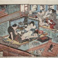 Hokusai, el arte erótico Shunga y la chica sin nombre